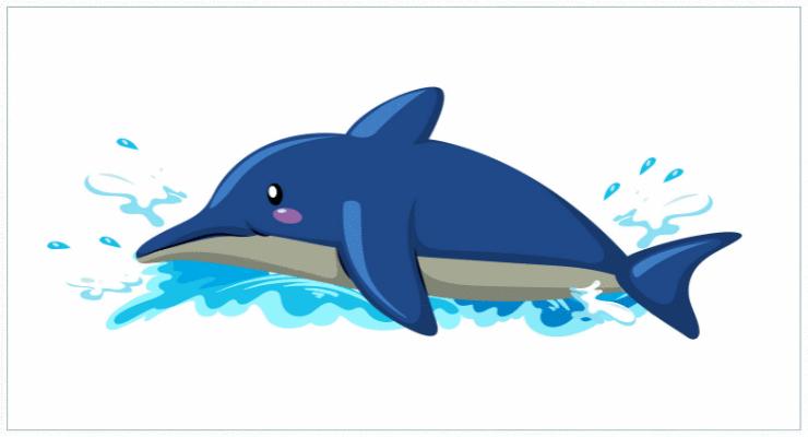 De tubarão a golfinho, qual a sua história?