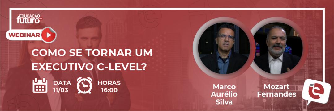 Você sabe como se tornar um executivo C-level? Este será o tema da live da quinta-feira, 11, em nosso Canal!