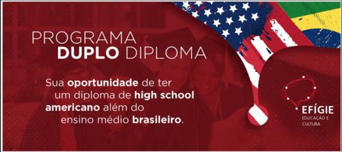 PROGRAMA DUPLO DIPLOMA UNE OS CURRÍCULOS BRASILEIRO E AMERICANO