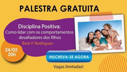 """Lançamento da Escola de Pais acontece hoje com palestra especial sobre """"Disciplina Positiva"""