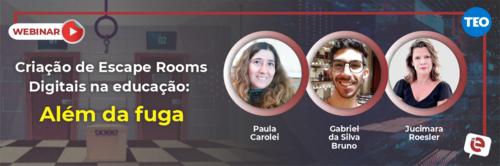 Como os Jogos de Fuga podem auxiliar na Educação? Saiba em nossa live na próxima quinta-feira, 08!