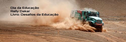 Dia da Educação, Rally Paris-Dakar e meu primeiro capítulo de livro